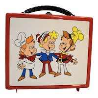 Rice Krispies Elves Lunch Box Aladdin 1984 Plastic