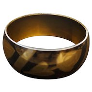 Brass Engraved Floral Bracelet Bangle Made in India