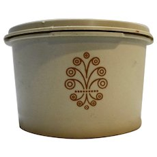 Tupperware 1297 Beige Servalier Small Canister