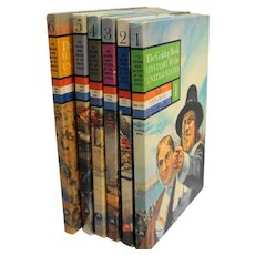 The Golden Book History of the United States Volumes 1-6 1963 Hardcovers