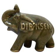 Dirksen GOP Pottery Elephant Ring Holder