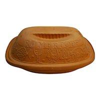 Bay Keramik #111 Romertopf 3 Quart Red Clay Baking Roaster West Germany