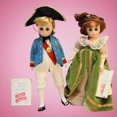 Lord Nelson Lady Hamilton Madame Alexander Dolls Pair