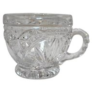 Hofbauer Byrdes Crystal Punch Cup 3 IN