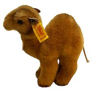 Steiff Trampy Camel Dromedary EAN 1453/15 Made in Western Germany 5 IN 1985-1988