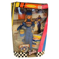 Barbie Nascar 50th Anniversary New In Box 1998