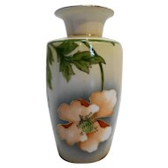 Royal Munich Zeh Scherzer Bavaria Porcelain Hand Painted Vase 1890s