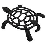 Sea Turtle Cast Iron Trivet Taiwan