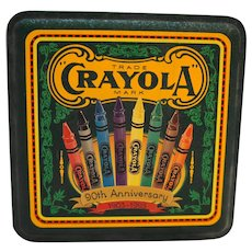 Crayola Tin 90th Anniversary 1993