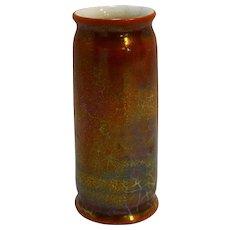Bennett Pottery KB USA Flambe Iridescent Glaze Narrow Vase Arts Crafts