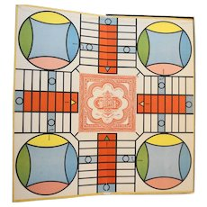 Parcheesi Royal Game of India Selchow Righter 1975 Edition