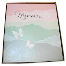 Hallmark Memories Photo Album Vintage 1980s New In Box