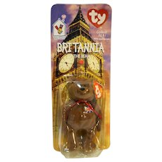 Ty Beanie Baby Britannia The Bear McDonald s Exclusive New In Package    Hoosier Collectibles  5ca1ac3fc467