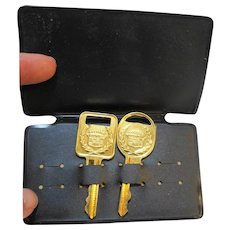 Cadillac 24KT Gold Plated Keys 1960s-80s