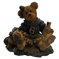 Boyd's Bears Bailey 2268 Cheerleader Resin Figurine