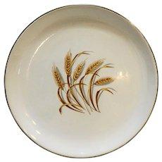 Homer Laughlin Golden Wheat Luncheon Plate 9 1/4 IN