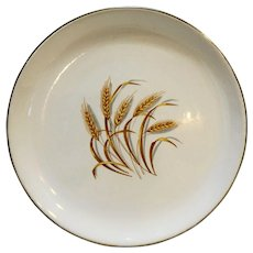 Homer Laughlin Golden Wheat Luncheon Plate 9 1/4 IN
