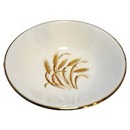 Homer Laughlin Golden Wheat Berry Bowl 5 3/8 IN