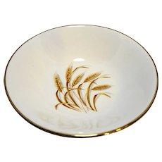 Homer Laughlin Golden Wheat Berry Bowl 5 3/8 IN
