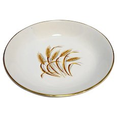 Homer Laughlin Golden Wheat Soup Cereal Bowl 7 5/8 IN