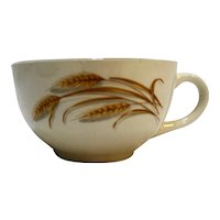Homer Laughlin Golden Wheat Cup
