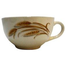 Homer Laughlin Golden Wheat Cup
