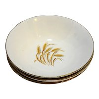 Homer Laughlin Golden Wheat Open Round Vegetable Bowl
