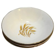 Homer Laughlin Golden Wheat Open Round Vegetable Bowl