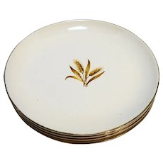 Taylor Smith Taylor Wheat Bread Plates Set of 4