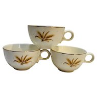 Taylor Smith Taylor Wheat Cups Set of Three