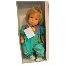 Gotz Estelle Soft Baby Doll WIth Box 16 IN Blond Blue Eyes Lieblingspuppen