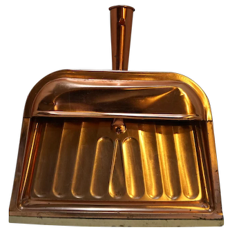 Ballonoff Copper Colored Aluminum Dust Pan