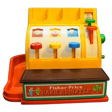 Fisher Price 926 1974 Cash Register No Coins