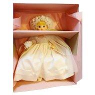 Madame Alexander Doll Bride 1589 Blonde Blue Eyes NIB 14 IN