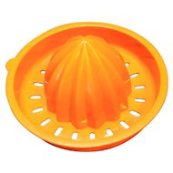 Tupperware Bright Orange Reamer Top 409