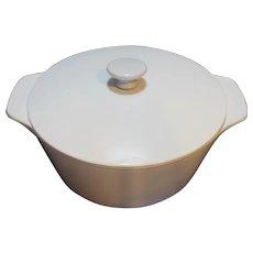 Corning Ware Buffet Server White 4 Quart White Knob B-4