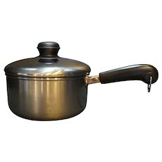 Revere Ware Tri Ply Disc Stainless Steel 2 Quart Saucepan