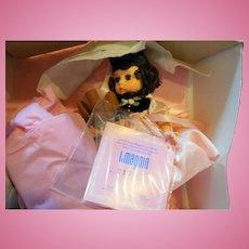 Madame Alexander Little Miss Magnin Brunette Teddy bear & Teaset NIB Ltd Ed 3600