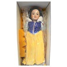 Lawton Doll Snow White Walt Disney World 14 IN 1997 NIB Ltd Ed 140/200