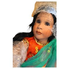 Lawton Doll Topeng Klana Java 14 IN 1993 NIB Ltd Ed 111/250