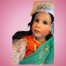 Lawton Doll Topeng Klana Java 14 IN 1993 NIB Ltd Ed 111/250