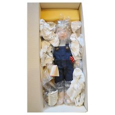 Lawton Doll Tom Sawyer 1993 NIB Ltd Ed 99/500 14 IN