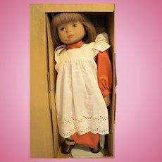 Heidi Ott Anne Seraina 18 IN Vinyl Hand Painted Doll NIB Switzerland 1980s