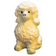 Davar Taiwan Bone China Poodle Figurine