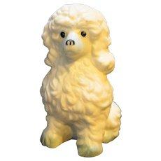 Davar Taiwan Bone China Poodle Figurine