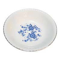 Wedgwood Royal Blue Ironstone Open Round Vegetable Bowl 9 IN