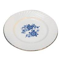 Wedgwood Royal Blue Ironstone Bread Plate