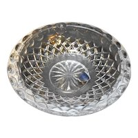 Princess House Highlights Lead Crystal Ashtray 868 With Box