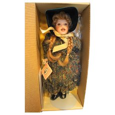 Lawton Doll Yuletide Carole NIB L Ed 500 AP/5 14 IN 1991 4th Annual Christmas
