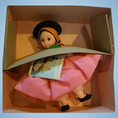 Madame Alexander Portugal 585 Little Women Foreign Lands NIB 1983